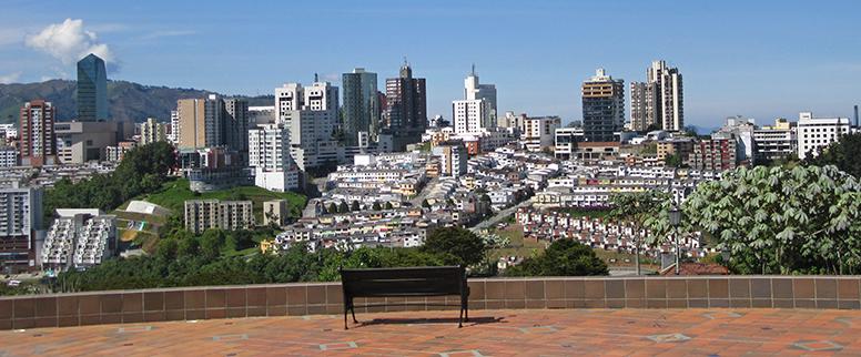 Manizales: a view from Los Yarumos