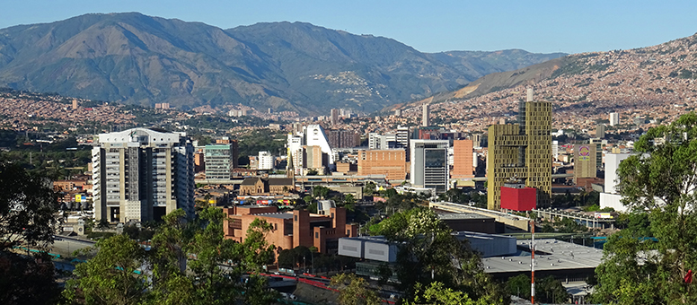 Medellín: a view from Pueblito Paisa