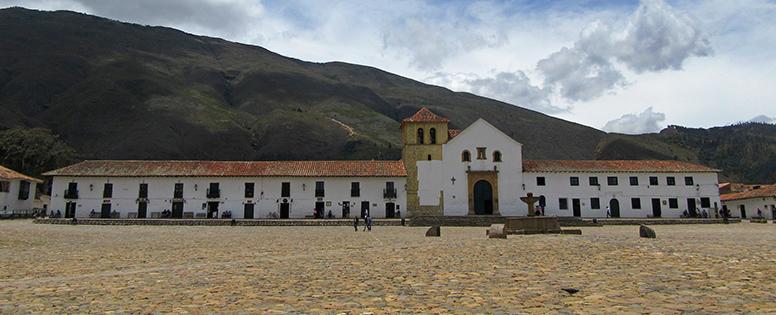 Villa de Leyva, main square