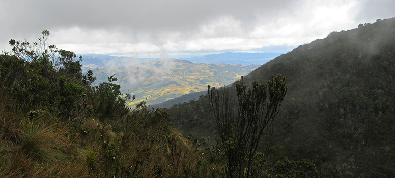 Laguna de Iguaque, Colombia